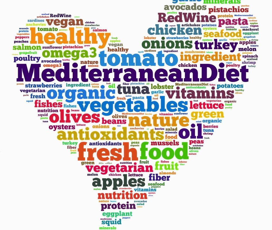 Health Benefits of Following a Mediterranean Diet